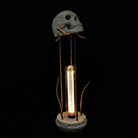 "Leucht-Skulptur ""planet earth"""