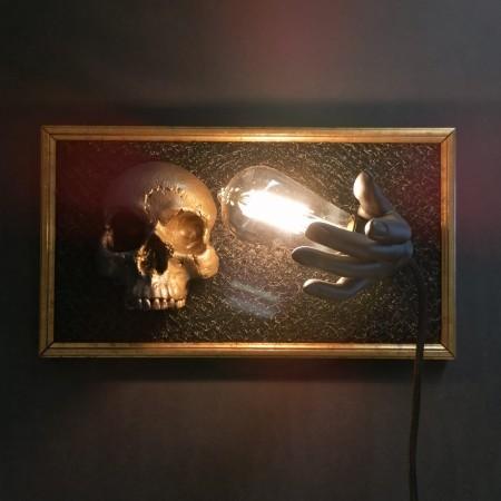"""Bild """"golden skull"""""""